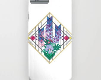 Wildflower Impressions phone case - Wild Lupine nature lover gift, iphone ipod, galaxy s8 s7 s6 s5 s4 nature inspired Christmas gift for her