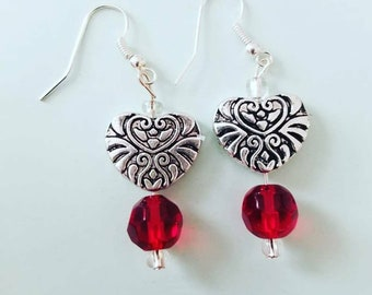 Corazon earrings