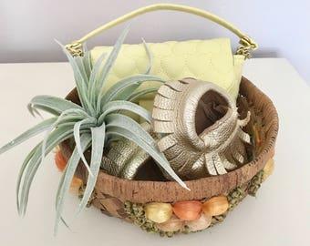 Raffia Fruit Basket