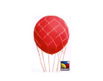 """16"""" Nets for Helium Balloons for Hot Air Balloon Large Party Helium Clear"""