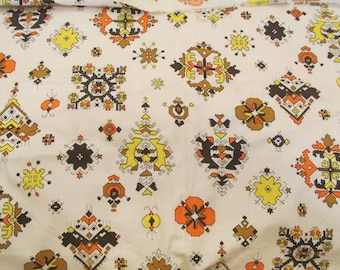 """Vintage Fabric Cotton 44"""" x 1 yard more available SALE"""