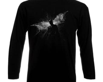 Inspired By Batman The Dark Knight Heath Ledger Joker Long Sleeve T-Shirt