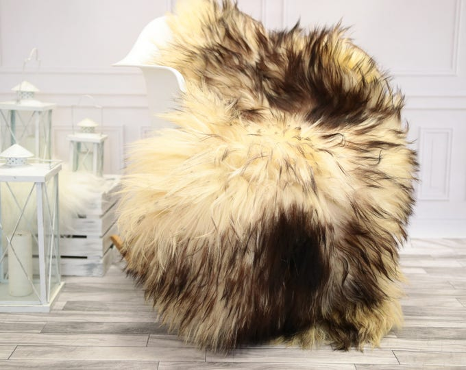Sheepskin Rug | Real Sheepskin Rug | Shaggy Rug | Chair Cover | Sheepskin Throw | Mouflon Sheepskin | CHRISTMAS DECOR | #DECMOUF2