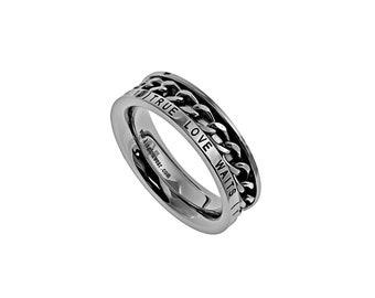 "Chain Ring ""True Love Waits"""