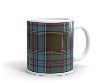 Anderson Scottish Tartan Clan Mug Two sizes! Printed-to-order in the U.S.A.