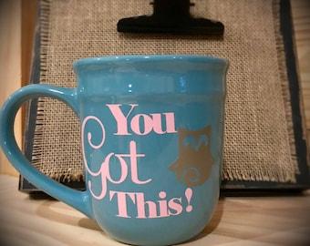 You Got This! Owl Mug