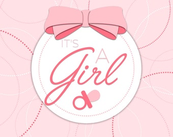 Baby Announcement for a Girl #2