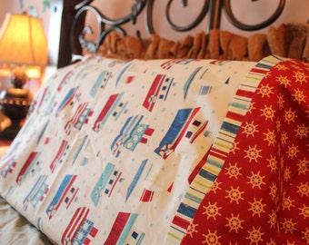 Patriot Sails Pillowcase Set