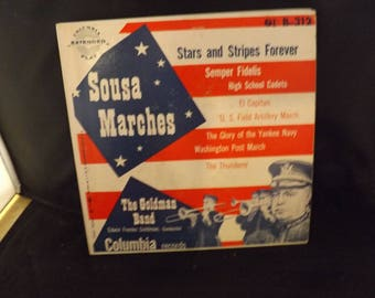 Columbia Records Sousa Marches Stars and Stripes Forever