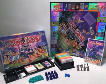 100 Years Of Magic Hasbro Monopoly: The Disney Edition Great Condition Complete FREE SHIPPING