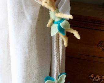 Fairy Curtains Tie-Backs, Nursery Curtains Tie-Backs, Girly Nursery, Child Bedroom Decor, Girl Nursery