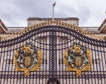 Buckingham Palace Gate London, England photography