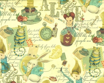 Alice in Wonderland-gift wrapping paper