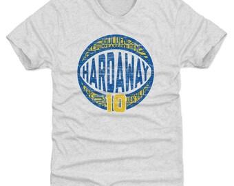 Tim Hardaway Shirt | Golden State Throwbacks | Men's Premium T-Shirt | Tim Hardaway Jumpball B