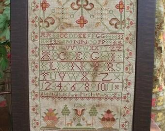 Ann Taylor : Cross Stitch Pattern by Heartstring Samplery