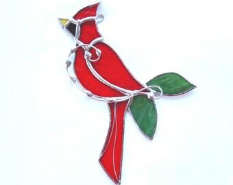 Greatest Cardinal suncatcher   Etsy LX15