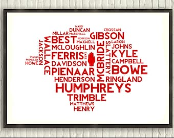 Legends of Ulster Rugby (Irish Sport Print)