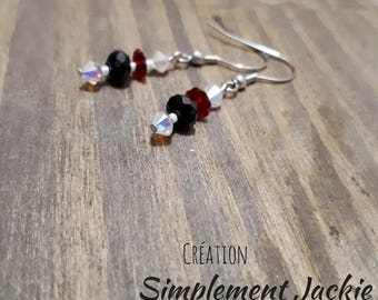 Simple and delicate earring