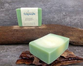 Rosemary Peppermint Handmade Soap