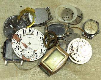 Grab Bag of Vintage Watch Parts, WATCH102