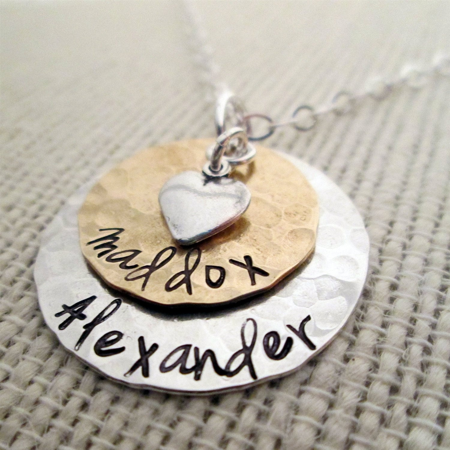 stamped you to the products love keely hand necklace pendant moon