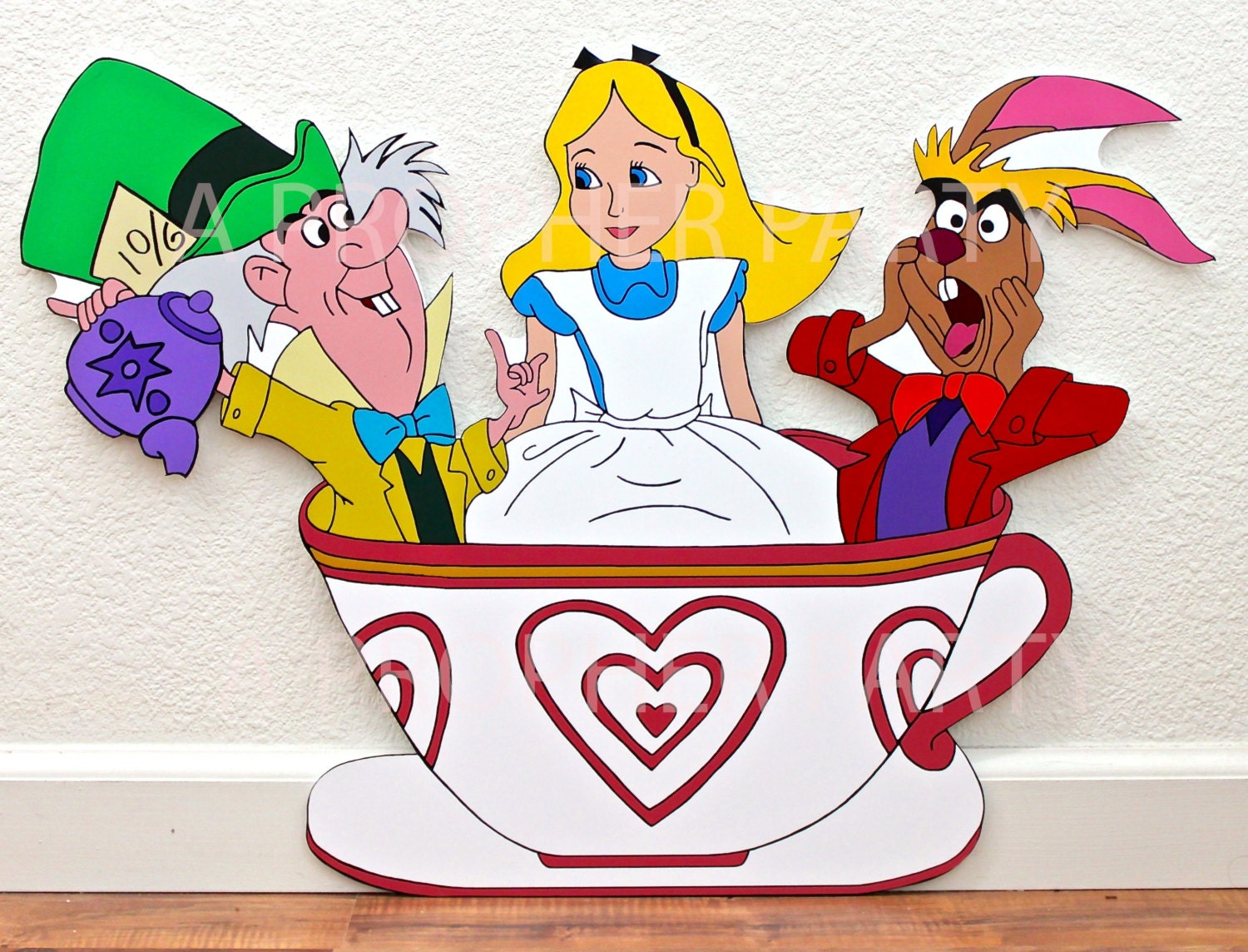 Alice In Wonderland Alice In Wonderland Party Tea Cup Ride