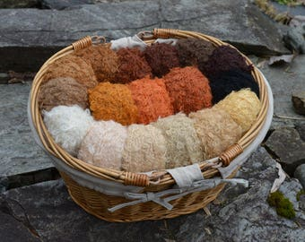Wild Large Loop Mohair Yarn in 17 Shades Now- Doll Making