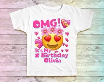 Emoji Birthday Shirt, Emoji Family Birthday Tshirt, Matching Shirts, Emoji Mommy Birthday Party Shirt , Emoji Daddy Birthday Shirt