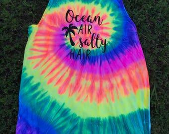 Ocean Air & Salty Hair Beach Tank