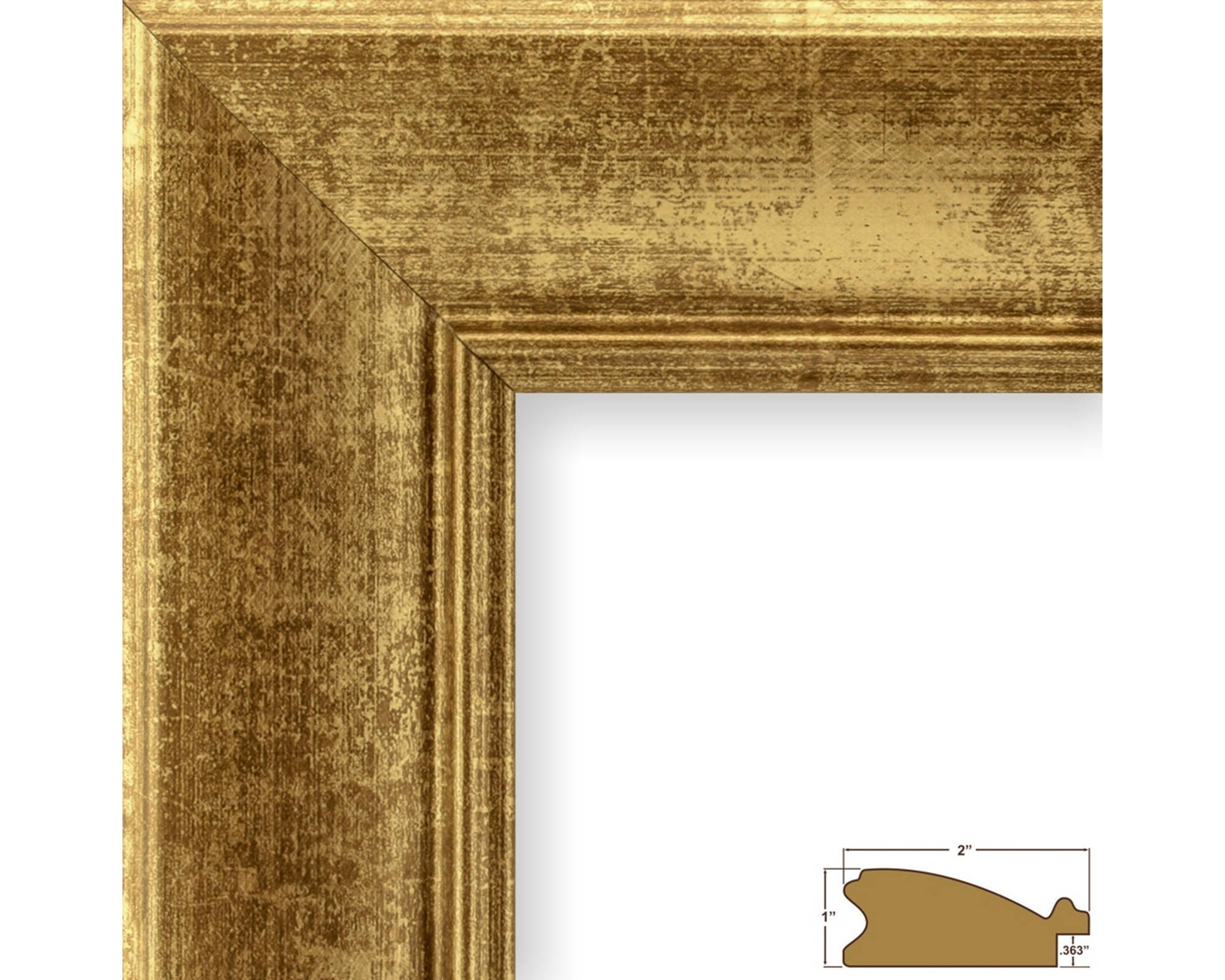 Craig frames 19x25 inch vintage gold picture frame 2 zoom jeuxipadfo Image collections