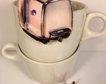Toaster Brooch toast and butter kitchen appliance wedding gift vintage toaster