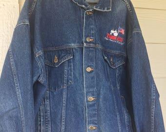 Farm Aid Concert - XL Denim Jacket - Collectible Item