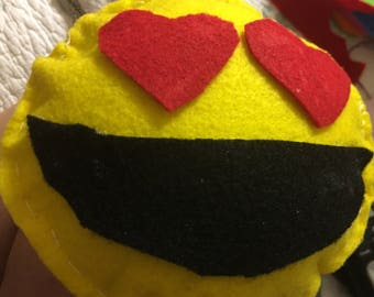 Small Emoji stuffed with cotton