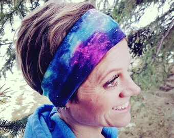 Galexy Space Planets Stars Headband