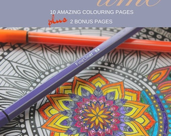 Relaxing Time Colouring Book