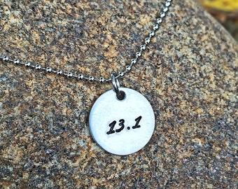 Runner necklace, runner jewelry, Running necklace, marathon necklace, half marathon necklace, 5k necklace, 10k necklace, ULTRA necklace