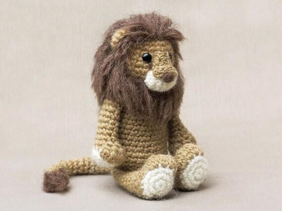 Crochet Amigurumi Lion Patterns : Amigurumi crochet lion pattern from sonspopkes on etsy studio