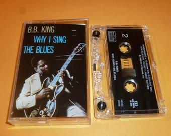 BB KING Cassette Tape BLUES why i sing R&B