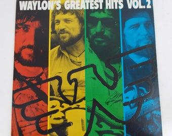 Waylon Jennings Waylon's Greatest Hits Volume 2 Vinyl LP Record Album AHL1-5325