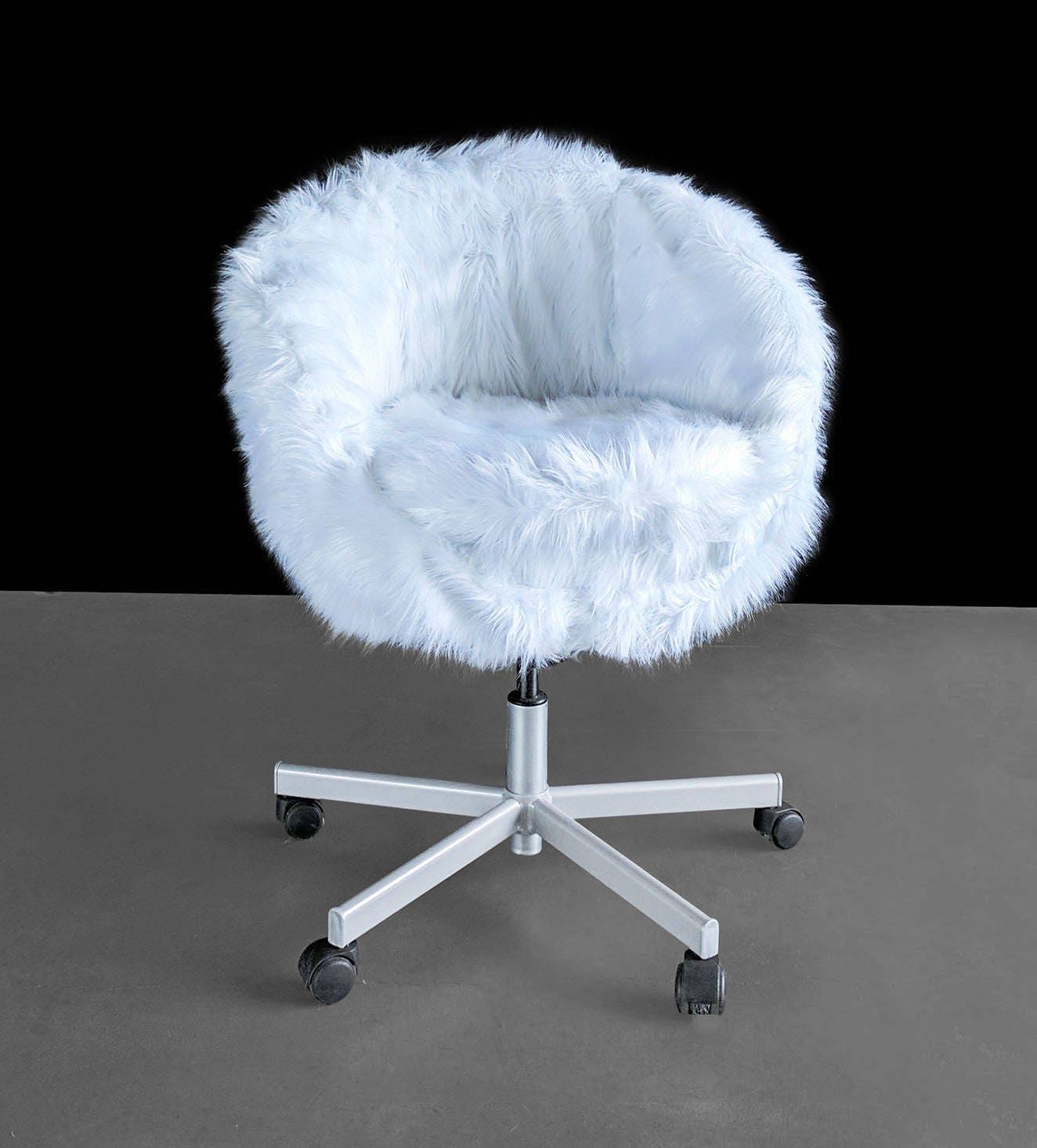 ikea wei es fell skruvsta stuhl beleg abdeckung. Black Bedroom Furniture Sets. Home Design Ideas