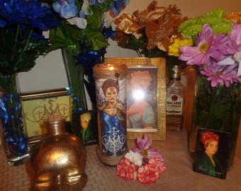 Marie Lavaeu Altar Candle