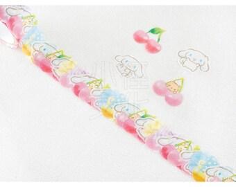 BANDE Sanrio Paper Sticker Series N-1801-484024 - Cinnamoroll Kutakko