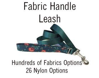 Add a Matching Leash * Fabric Handle Leash