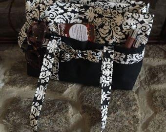 7 pocket tote purse