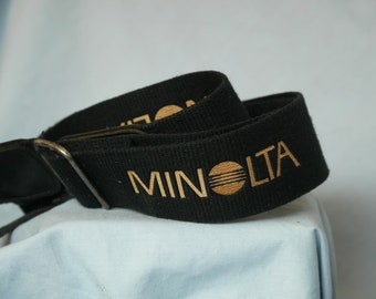 Minolta Wide Camera Neck Strap -Actual Makers-