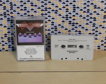Aerosmith - Rocks - Cassette tape