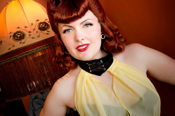 Like this item?  sc 1 st  Etsy & Silk Spectre Watchmen cosplay wig vintage pin-up hair Sally