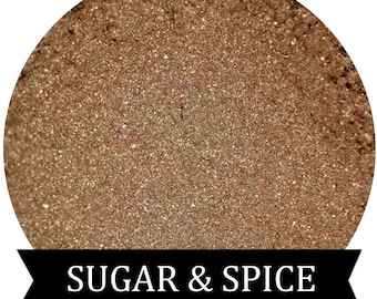 SUGAR and SPICE Golden Tan Eyeshadow Fall Halloween Collection