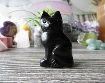 Black Obsidian Kitten