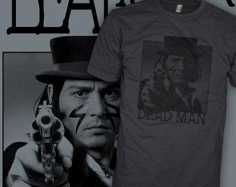 Johnny Depp T Shirt - Dead Man Movie - Dead Man Johnny Depp T Shirts